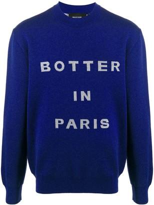 Botter logo intarsia jumper