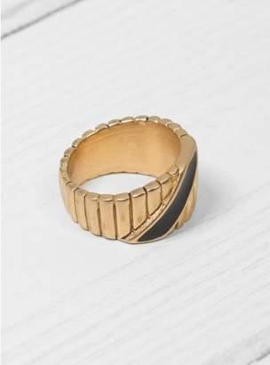 Mayle Maison Black & Gold Ingot Ring