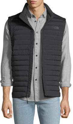The North Face Men's Stretch Down Zip-Front Vest, Black