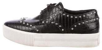 Ash Stud-Embellished Flatform Sneakers