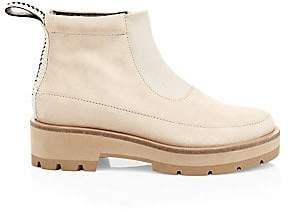 3.1 Phillip Lim Women's Avril Suede Lug Sole Boots