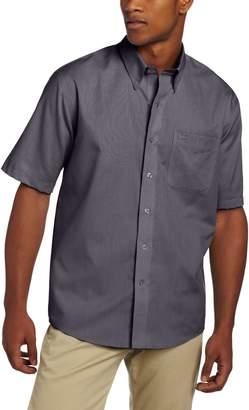 Cutter & Buck Men's Short Sleeve Epic Easy Care Nailshead Shirt