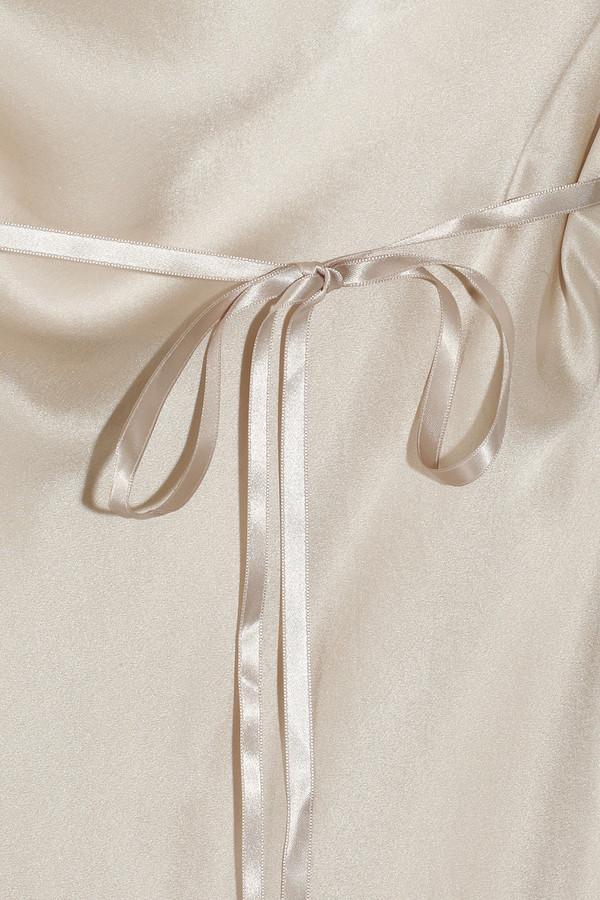 Jenny Packham Silk-satin chemise