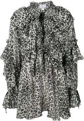 Redemption leopard print dress