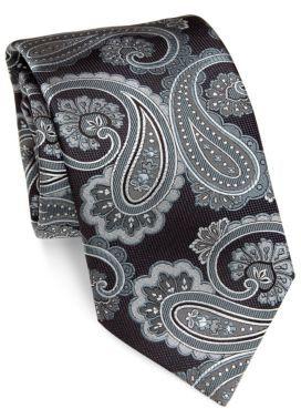 BrioniBrioni Paisley Silk Tie