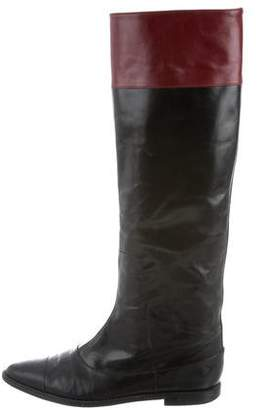 Derek Lam Leather Riding Boots