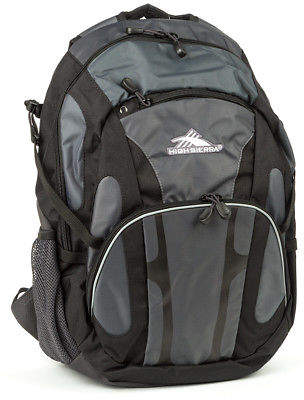 High Sierra NEW Composite Black & Charcoal Backpack