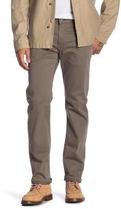 Mavi Jeans Myles Dusty Olive Twill Straight Leg Jeans