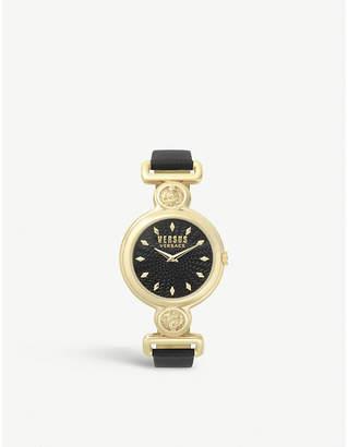 Versus SPOL310018 Sunnyridge gold-toned stainless steel watch