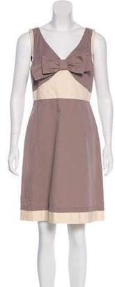 See by Chloe Sleeveless Bow-Accented Dress