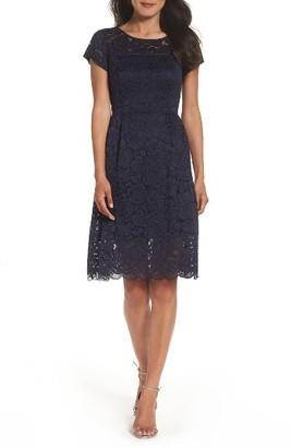 Women's Ellen Tracy Lace Dress $128 thestylecure.com