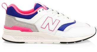 New Balance 997H Leather & Suede Sneakers