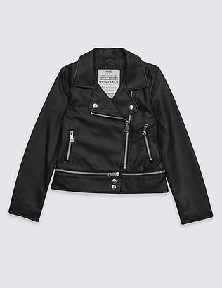 Marks and Spencer Biker Jacket with StormwearTM (3-16 Years)