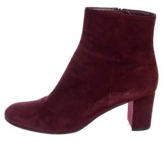 Gianvito Rossi Suede Ankle Boots Suede Ankle Boots