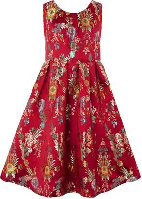 Monsoon Folk Jacquard Dress