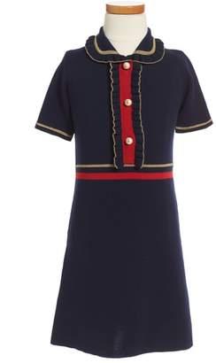 Gucci Wool Polo Dress