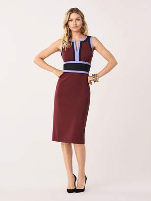 Diane von Furstenberg Maribel Stretch Ponte Knee-Length Dress