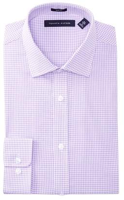 Tommy Hilfiger Washed Gingham Slim Fit Oxford Dress Shirt