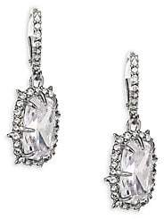 Alexis Bittar Swarvoski Crystal Framed Cushion Drop Earrings