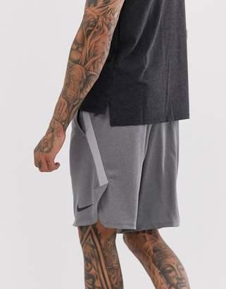 Nike Training 4.0 shorts in grey