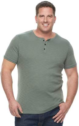 Apt. 9 Big & Tall Slubbed Henley