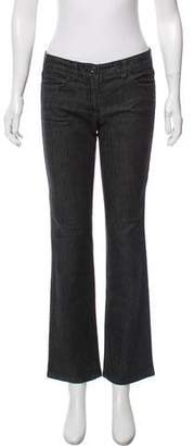 Theory Flared Low-Rise Jeans