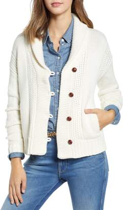 1901 Shawl Collar Fisherwoman Cardigan