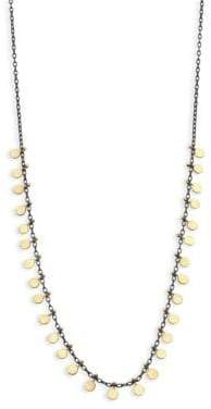 SIA Taylor Dots 18K Yellow Gold& Sterling Silver Necklace