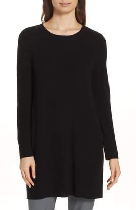 Eileen Fisher Round Neck Merino Wool Tunic
