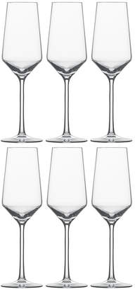 Zwiesel 1872 - Pure Champagne Flutes - Set of 6