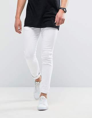 Loyalty And Faith Manor Skinny Fit Jeans in White