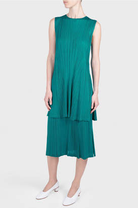 Pleats Please Issey Miyake Monthly Colors Pleated Midi Skirt