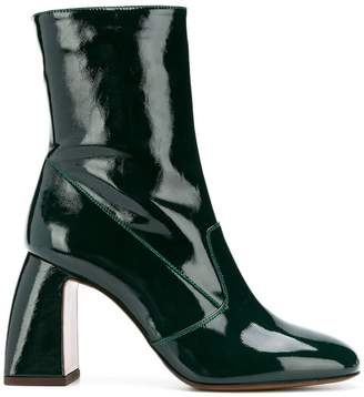 L'Autre Chose arched heel boots