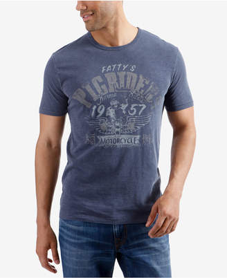 Lucky Brand Men's Pig Riders Graphic T-Shirt