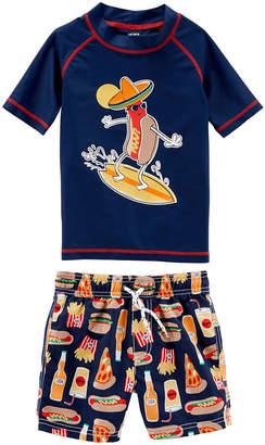 Carter's Swimwear Boys Trunk Set - Toddler