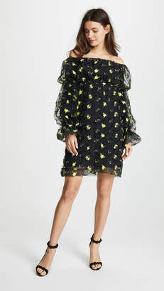 Jourden OTS Floral Dress