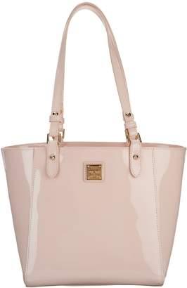 Dooney & Bourke Patent Leather Tote Handbag- Janie