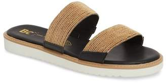 BC Footwear Grand Prize Slide Sandal (Women)