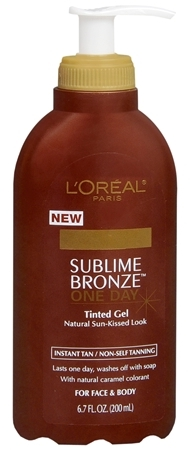 L'Oreal Sublime Bronze One Day Instant Tinted Gel