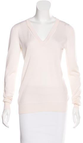 GucciGucci Cutout V-Neck Sweater
