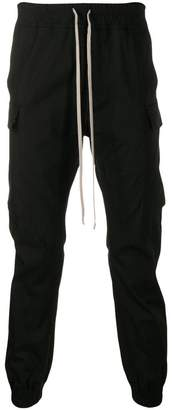 Rick Owens slim fit cargo trousers