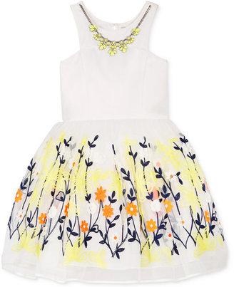 Nanette Lepore Embroidered Floral Dress, Big Girls (7-16) $98.50 thestylecure.com