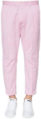 DSQUARED2 16.5cm Hockney Cotton Satin Pants