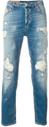 Dondup ripped carrot fit jeans