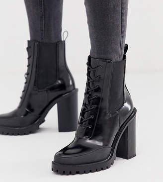 919a11c4441 Chunky Lace Up Boots - ShopStyle UK