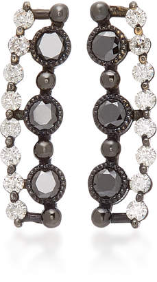 Colette Jewelry Masai 18K Gold and Diamond Ear Cuffs