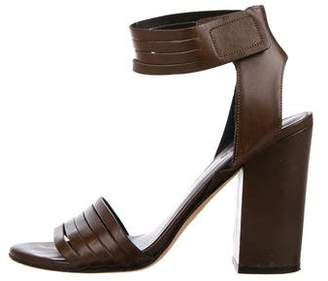 Vince Leather Strappy Sandals