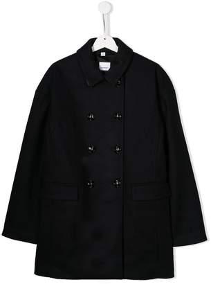Burberry A-line wool coat