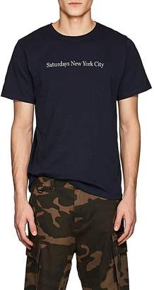 Saturdays NYC Men's Logo Cotton Jersey T-Shirt