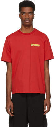 Opening Ceremony Red Graphic T-Shirt